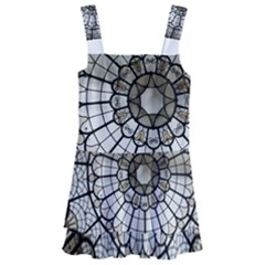 Pattern Abstract Structure Art Kids  Layered Skirt Swimsuit