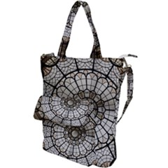 Pattern Abstract Structure Art Shoulder Tote Bag