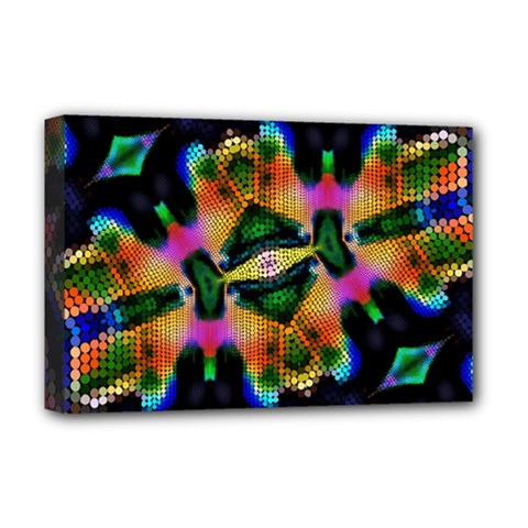 Butterfly Color Pop Art Deluxe Canvas 18  X 12  (stretched)