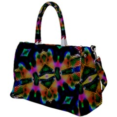Butterfly Color Pop Art Duffel Travel Bag