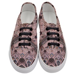 Pattern Decoration Art Architecture Women s Classic Low Top Sneakers