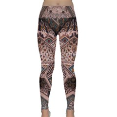 Pattern Decoration Art Architecture Lightweight Velour Classic Yoga Leggings