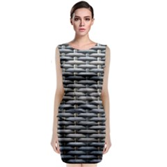 Desktop Pattern Abstract Fabric Classic Sleeveless Midi Dress