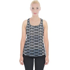 Desktop Pattern Abstract Fabric Piece Up Tank Top