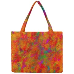 Abstract Pattern Art Canvas Mini Tote Bag by Nexatart
