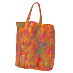 Abstract Pattern Art Canvas Giant Grocery Tote
