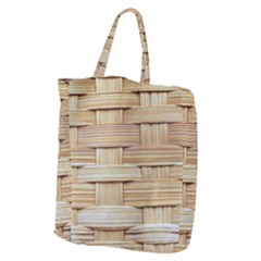 Wicker Model Texture Craft Braided Giant Grocery Tote