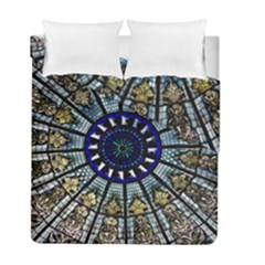 Pattern Art Form Architecture Duvet Cover Double Side (full/ Double Size)