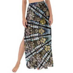 Pattern Art Form Architecture Maxi Chiffon Tie Up Sarong