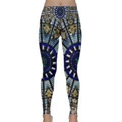 Pattern Art Form Architecture Lightweight Velour Classic Yoga Leggings
