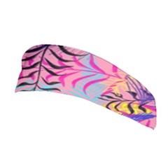 Illustration Reason Leaves Design Stretchable Headband