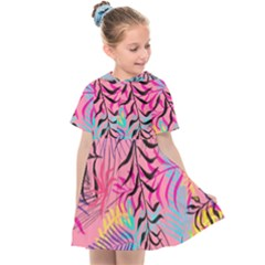 Illustration Reason Leaves Design Kids  Sailor Dress
