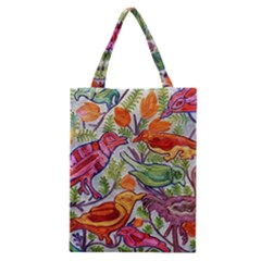Art Flower Pattern Background Classic Tote Bag