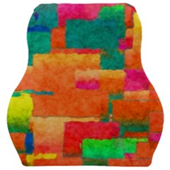 Pattern Texture Background Color Car Seat Velour Cushion