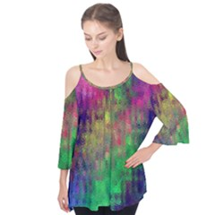 Background Abstract Art Color Flutter Tees