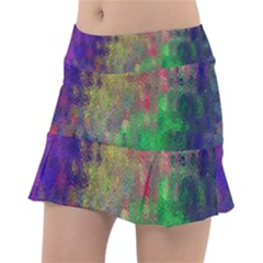 Background Abstract Art Color Tennis Skirt