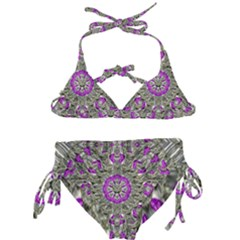 Love On The Sea Of Love In Peace Kids  Classic Bikini Set