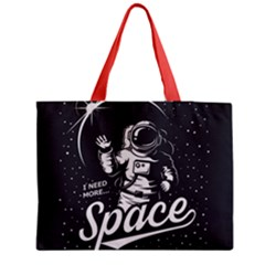 Universe Space Astronaut Medium Tote Bag by walala