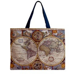 Map Old  Mini Tote Bag by walala