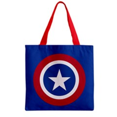 Usa Star Grocery Tote Bag by Wanni