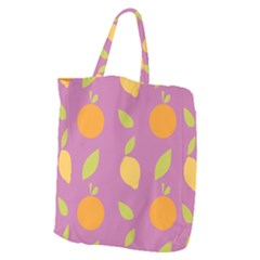 Seamlessly Pattern Fruits Fruit Giant Grocery Tote