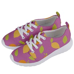 Seamlessly Pattern Fruits Fruit Women s Lightweight Sports Shoes by Nexatart