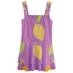 Seamlessly Pattern Fruits Fruit Kids  Layered Skirt Swimsuit