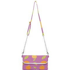 Seamlessly Pattern Fruits Fruit Mini Crossbody Handbag by Nexatart