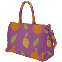 Seamlessly Pattern Fruits Fruit Duffel Travel Bag