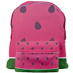 Watermelon Fruit Summer Red Fresh Giant Full Print Backpack by Nexatart