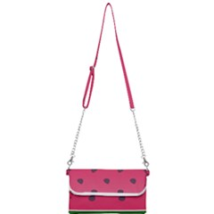 Watermelon Fruit Summer Red Fresh Mini Crossbody Handbag