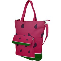 Watermelon Fruit Summer Red Fresh Shoulder Tote Bag