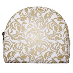 Gold Vintage Rococo Model Patern Horseshoe Style Canvas Pouch by Nexatart