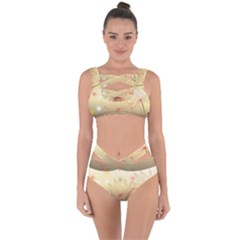 Flower Summer S Nature Plant Bandaged Up Bikini Set