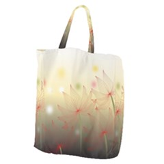 Flower Summer S Nature Plant Giant Grocery Tote