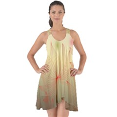 Flower Summer S Nature Plant Show Some Back Chiffon Dress by Nexatart