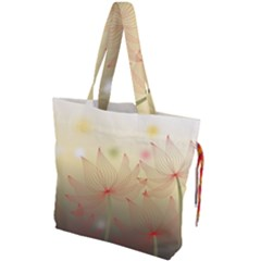 Flower Summer S Nature Plant Drawstring Tote Bag by Nexatart