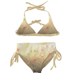 Flower Summer S Nature Plant Kids  Classic Bikini Set