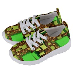 Blocks Cubes Construction Design Kids  Lightweight Sports Shoes by Nexatart