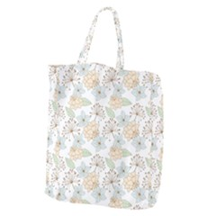 Dandelion Colors Nature Flower Giant Grocery Tote