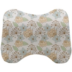 Dandelion Colors Nature Flower Head Support Cushion