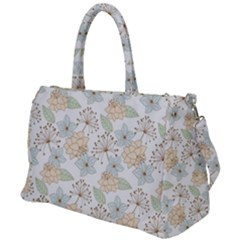 Dandelion Colors Nature Flower Duffel Travel Bag