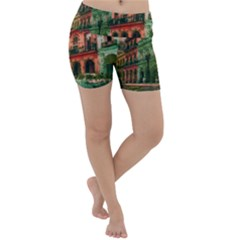 Havana Cuba Architecture Capital Lightweight Velour Yoga Shorts