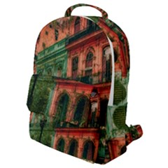 Havana Cuba Architecture Capital Flap Pocket Backpack (small)