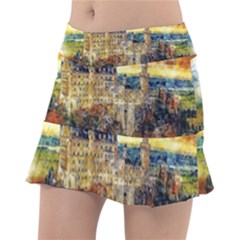 Architecture Castle Fairy Castle Tennis Skirt