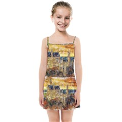 Architecture Castle Fairy Castle Kids Summer Sun Dress