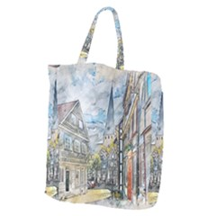 Altstadt Hattingen Ruhr Trail Giant Grocery Tote