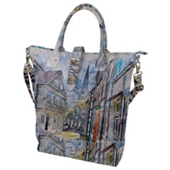 Altstadt Hattingen Ruhr Trail Buckle Top Tote Bag