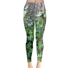 Green Ivy Leggings  by greenthanet