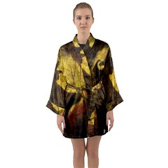 Witch On Moon Long Sleeve Kimono Robe by bloomingvinedesign